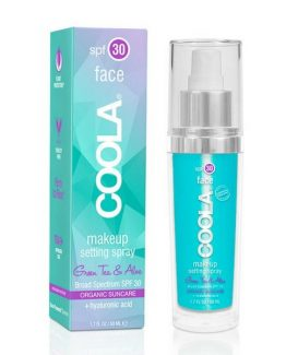 COOLA Makeup Setting Spray SPF30 Green Tea & Aloe