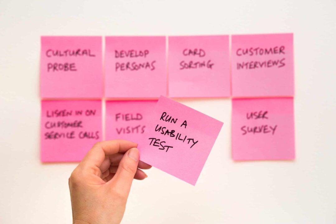 6 punkters checklista för användarvänlighet